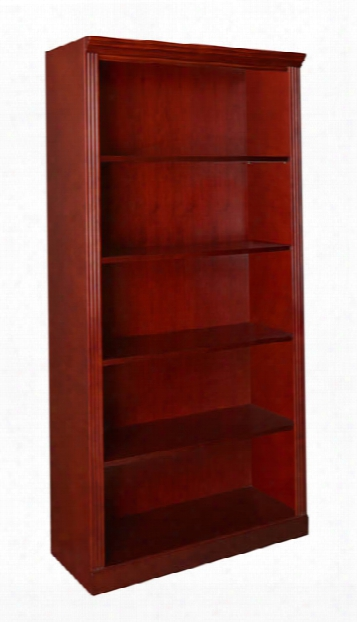 5 Shelf Traditional Bookcase By Regency Furniture