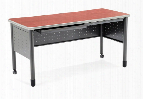 "55"" Table Desk With Drawers By Ofm"
