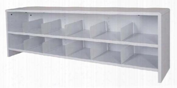 """56""""w Two Shelf Desktop Organizer By Ironwood"""