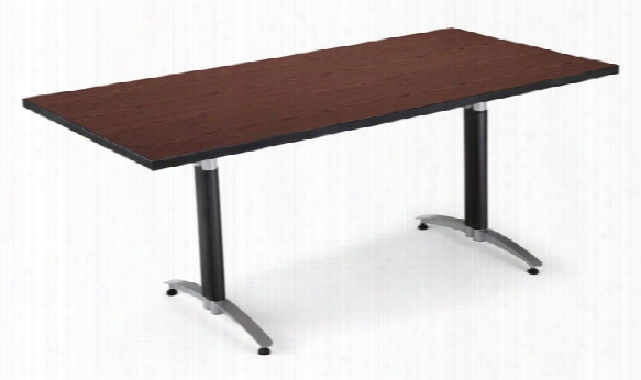 6' Mesh Base Conference Table By Ofm