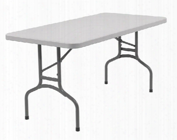 "60"" Lightweight Folding Table By National Public Seating"