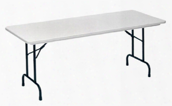 """60"""" X 30"""" Blow Molded Folding Table By Correll"""