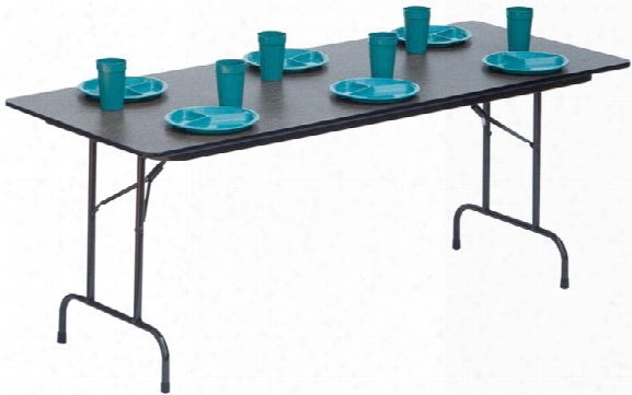 "60"" X 30"" Heavy Duty Folding Table By Correll"