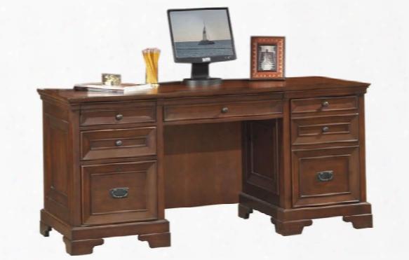 """66"""" Executive Desk By Aspen Home"""