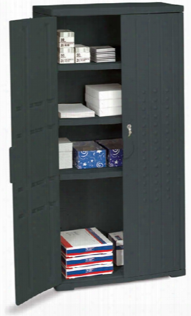 "66""h Storage Cabinet By Iceberg"