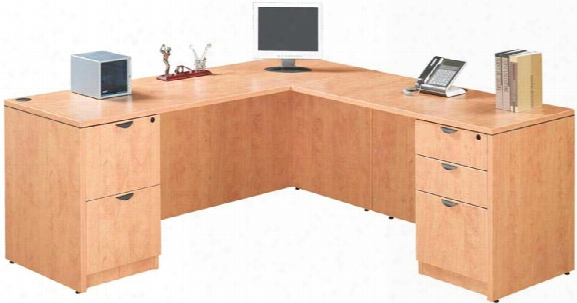 "71"" X 71"" L Shaped Desk By Marquis"