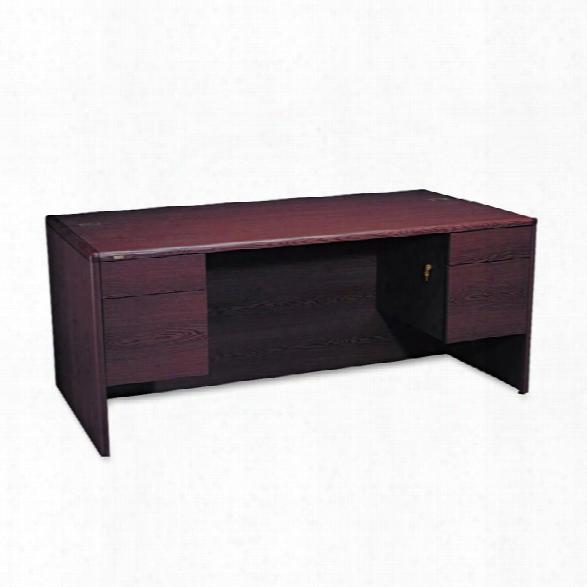 """72"""" Double Pedestal Desk By  Hon"""