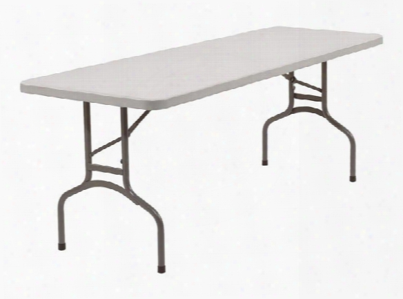 72&qukt; Lightweight Folding Table By National Public Seating