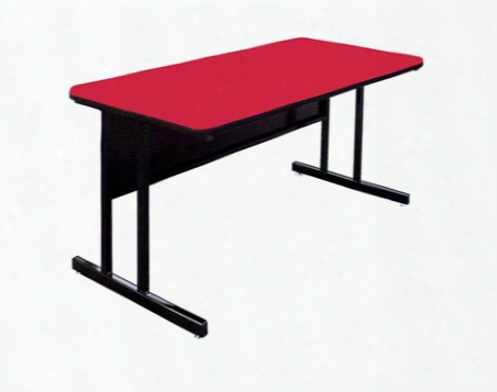 """72"""" X 24"""" Desk Height Work Station By Correll"""