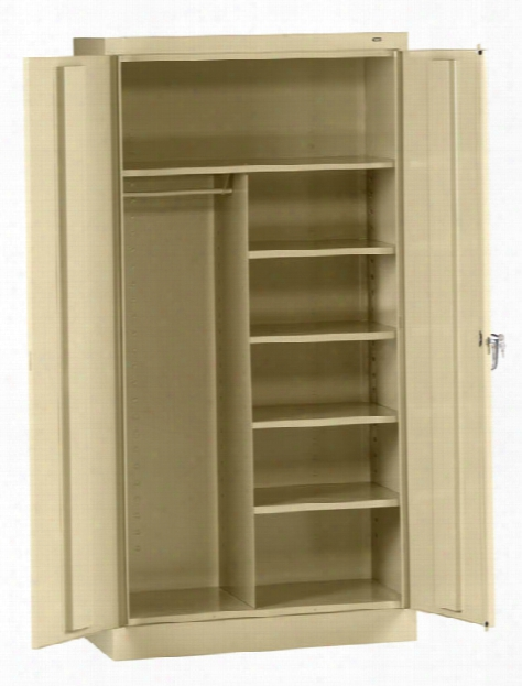 "72""h X 18""d Standard Combination Cabinet By Tennsco"