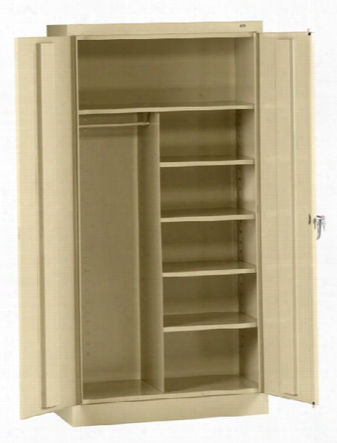 "72""h X 24""d Standard Combination Cabinet By Tennsco"