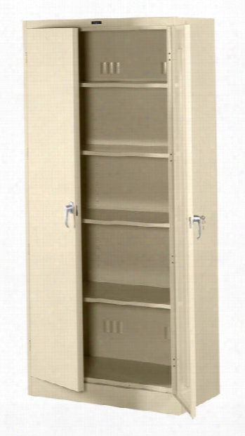 "78""h X 18""d Deluxe Storage Cabinet By Tennsco"