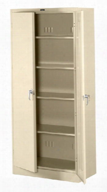 "78""h X 24""d Deluxe Storage Cabinet By Tennsco"