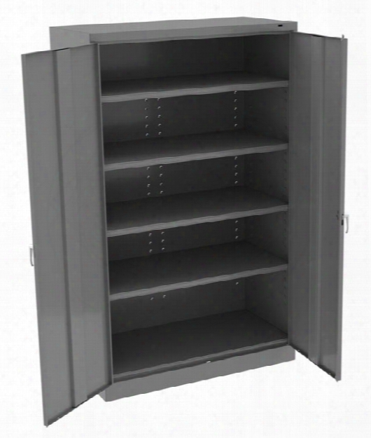 "78""h X 24""d Jumbo Storage Cabinet By Tennsco"