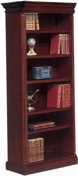 """80"""" High Left End Facing Open Bookcase By Dmi Office Furniture"""