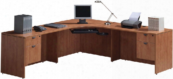 "90"" Corner Workstation By Office Source"