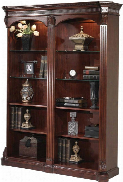 Balmoor Double Bookcase By Dmi Office Furniture