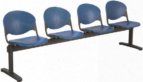 Beam 4 Seat Bench By Kfi Seating