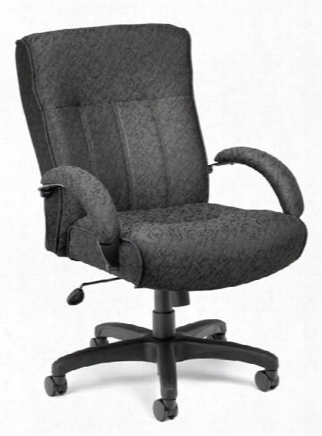 Big And Tall Executive Mid Back Chair By Ofm
