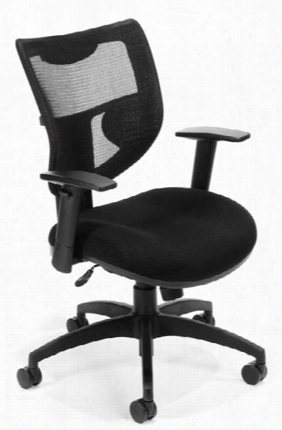 Contemporary Executive Mesh Chair By Ofm