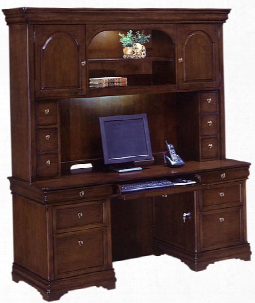 Credenza With Hutch By Dmi Office Furniture