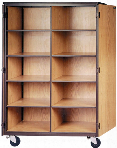 Cubicle Mobile Storage Cabinet By Ironwood
