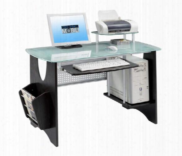 Espresso Computer Desk By Techni Mobili