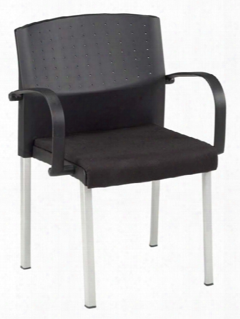 Europa Stack Chair With Arms By Ofm