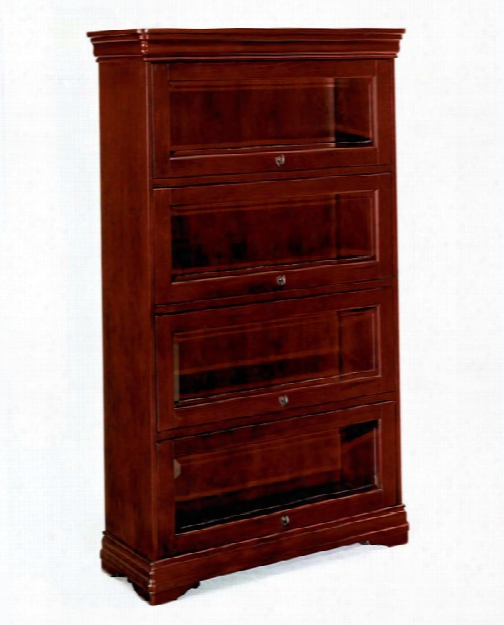 Four Door Barrister Bookcase By Dmi Office Furniture
