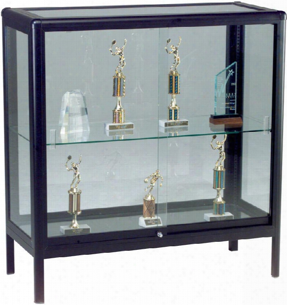 Full View Counter Height Display Case By Best Rite