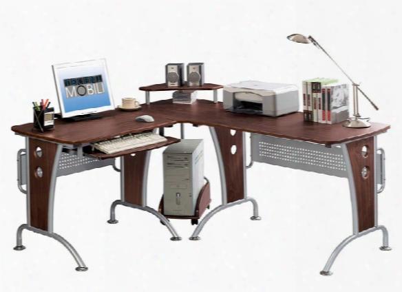 L Shaped Computer Desk By Techni Mobili