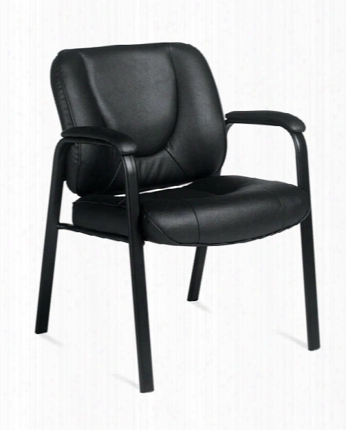 Leather Guest Chair By Offices To Go