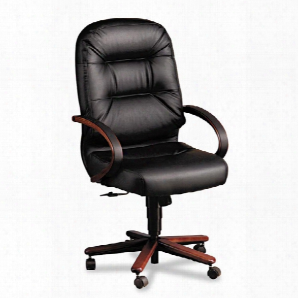 Leather High Back Executive Chair By Hon