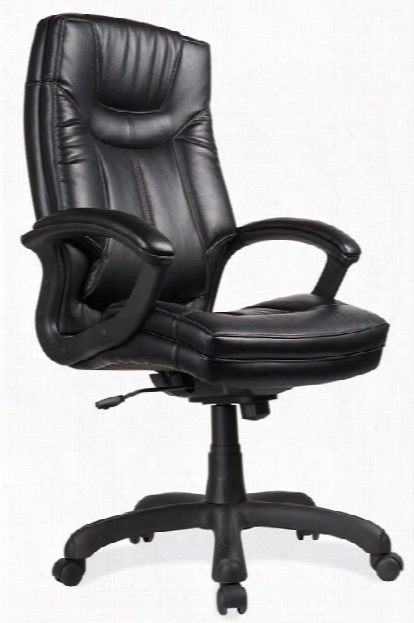 Leatherette Executive High Back Chair By Office Source