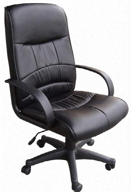 Leatherette Mid Back Chair By Ofm