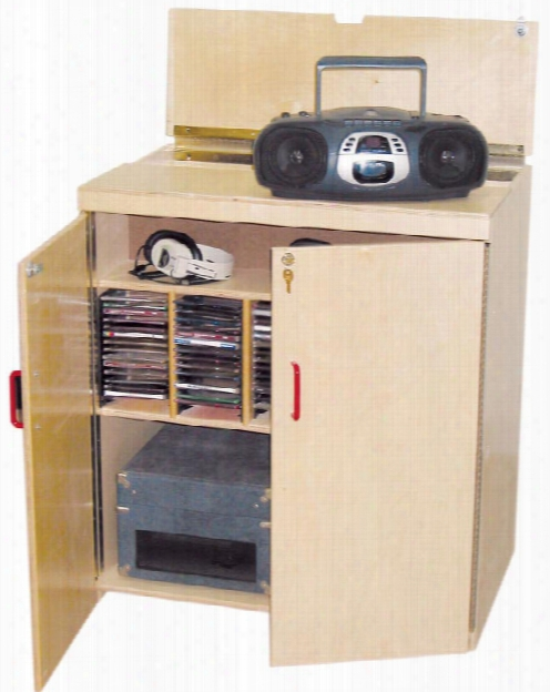 Lock-it-up Audio Center By Wood Designs