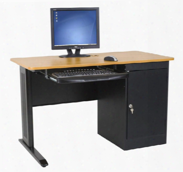 "Lx 48"" X 24"" Computer Workstation By Balt"