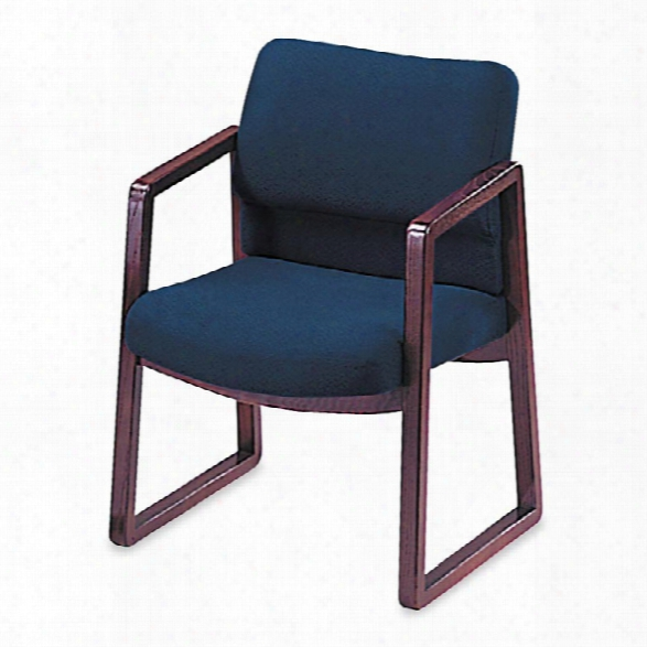 Mahogany Guest Chair By Hon
