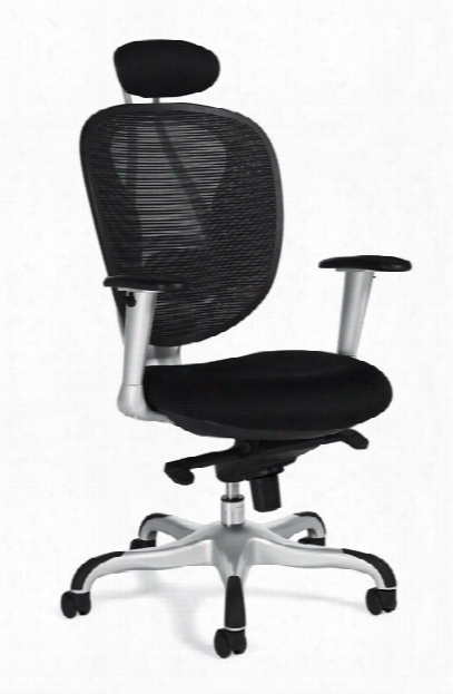 Mesh Executive Chair With Headrest By Offices To Go