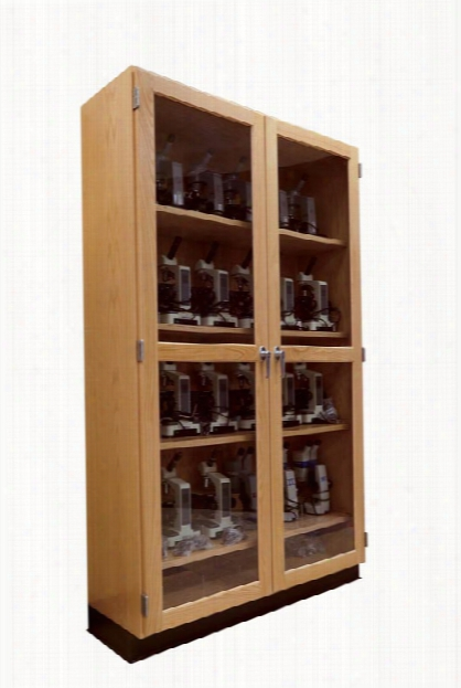 Microscope Storage Cabinet By Diversified Woodcrafts