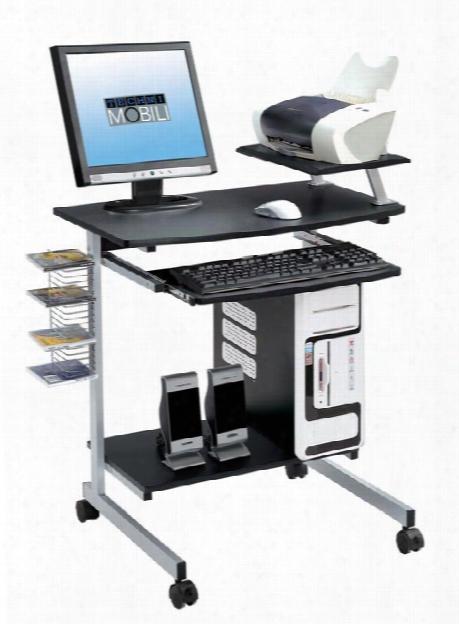 Mobile Computer Desk By Techni Mobili