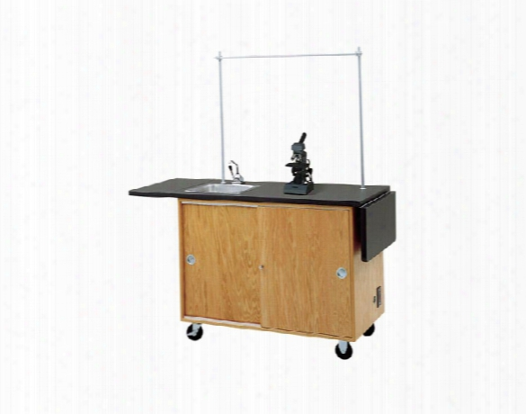 Mobile Laboratory Unit By Diversified Woodcrafts