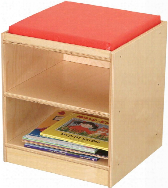 Mobile Storage Stool By Wood Designs