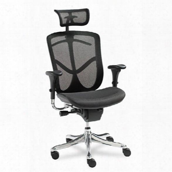Multifunction High Back Swivel Chair By Alera