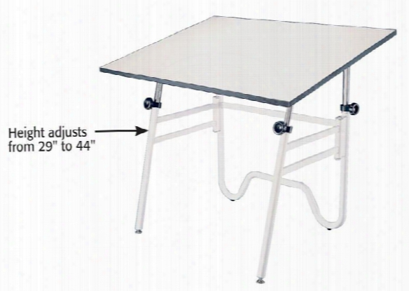 "Opal 24"" X 36"" Drafting Table By Alvin"