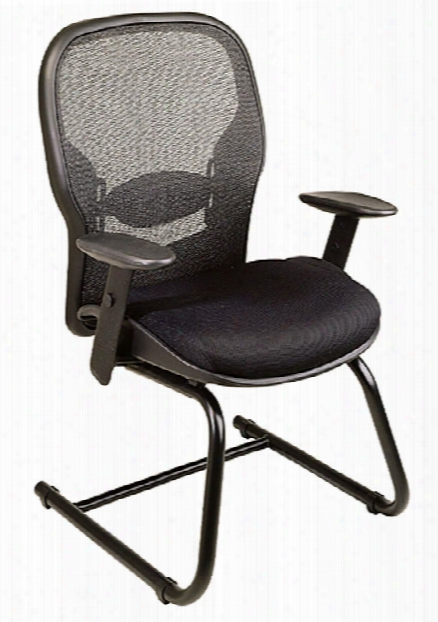 Professional Matrex Back Visitors Chair By Office Star