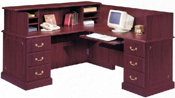 Reception Station By High Point Furniture