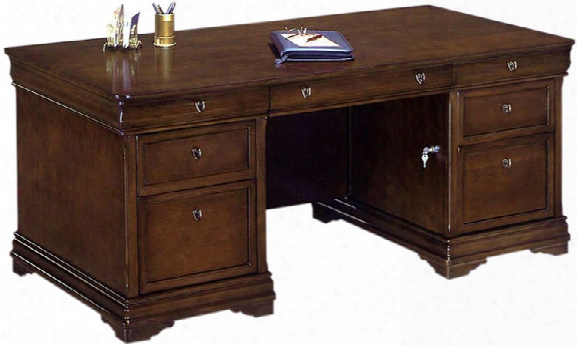"Rue De Lyon 72"" X 36"" Double Pedestal Executive Desk By Dmi Office Furniture"