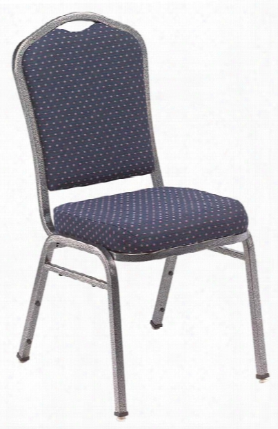 Silhouette Banquet Fabric Stack Chair By National Public Seating