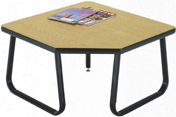 Sled Base Corner Table By Ofm